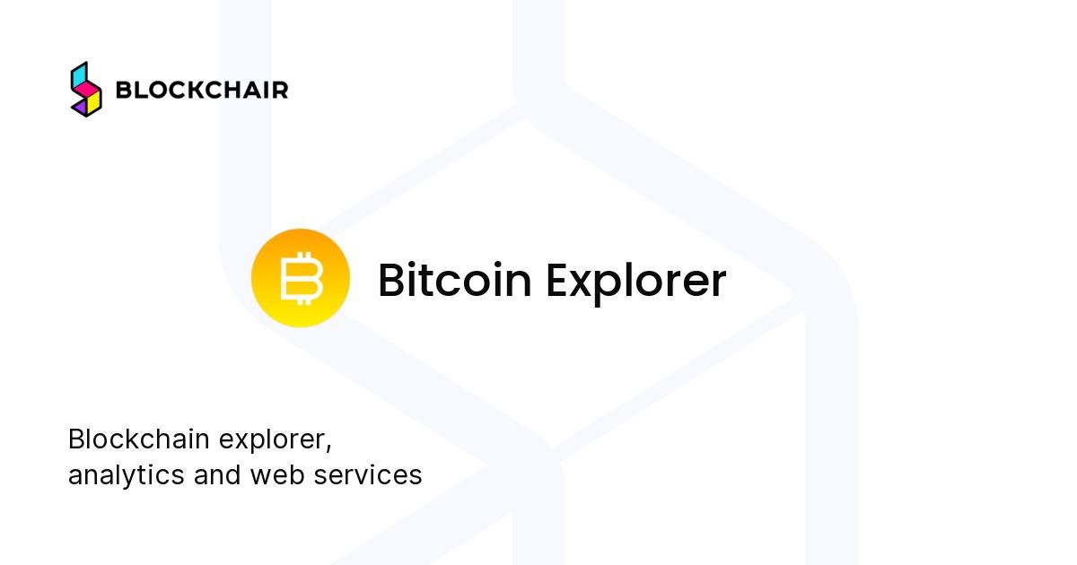 explorator bitcoin)